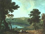 Richard  Wilson Lake Albano and Castel Gandolfo oil painting picture wholesale