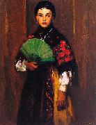 Robert Henri Spanish Girl of Segovia oil painting artist