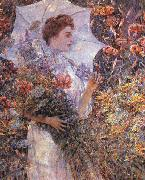 Robert Reid The White Parasol oil painting picture wholesale