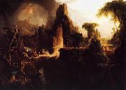 Thomas Cole Expulsion from Garden of Eden oil painting picture wholesale