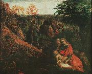 Samuel Palmer The Rest on the Flight into Egypt 2 oil painting artist
