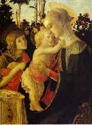 Sandro Botticelli The Virgin and Child The Virgin and Child The Virgin and Child with John the Baptist oil painting picture wholesale