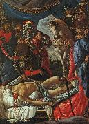 Sandro Botticelli The Discovery of the Body of Holofernes oil