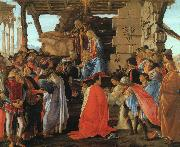 Sandro Botticelli The Adoration of the Magi oil