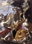Simon Vouet Allegory of Peace oil painting picture wholesale