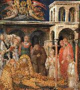 Simone Martini The Death of St.Martin oil painting artist