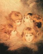Sir Joshua Reynolds Heads of Angels Spain oil painting reproduction