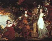 Sir Joshua Reynolds Ladies Adorning a Term of Hymen oil painting picture wholesale