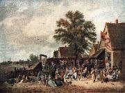 TENIERS, David the Younger The Village Feast gh oil painting picture wholesale