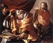 TERBRUGGHEN, Hendrick The Calling of St Matthew  ert oil painting picture wholesale
