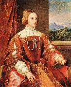 TIZIANO Vecellio Empress Isabel of Portugal r oil painting picture wholesale