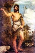 TIZIANO Vecellio St. John the Baptist er oil painting picture wholesale