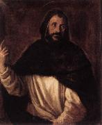 TIZIANO Vecellio St Dominic  st oil painting picture wholesale