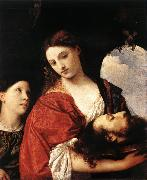 TIZIANO Vecellio Judith with the Head of Holofernes qrt oil painting picture wholesale