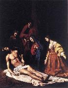 TOURNIER, Nicolas Entombment wt oil painting artist