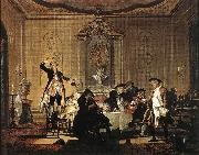 TROOST, Cornelis Rumor erat in Casa (There was a Commotion in the House) t oil painting picture wholesale