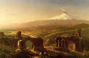 Thomas Cole Mount Etna from Taormina oil painting picture wholesale