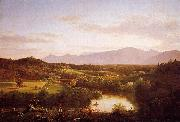 Thomas Cole Angels Ministering to Christ in the Wilderness oil painting picture wholesale