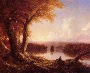 Thomas Cole Indian at Sunset oil painting picture wholesale