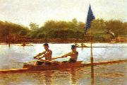Thomas Eakins Biglen Brothers, Turning the Stake oil painting picture wholesale