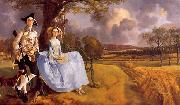 Thomas Gainsborough Mr and Mrs Andrews oil painting artist