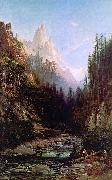 Thomas Hill Castle Craigs, California oil painting artist