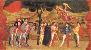 UCCELLO, Paolo Miracle of the Desecrated Host (Scene 4) aet oil painting picture wholesale
