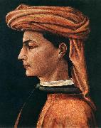 UCCELLO, Paolo Portrait of a Young Man wt oil painting picture wholesale