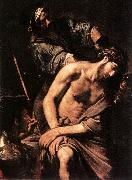 VALENTIN DE BOULOGNE Crowning with Thorns wr oil painting artist