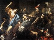 VALENTIN DE BOULOGNE Christ Driving the Money Changers out of the Temple kjh oil painting picture wholesale