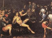 VALENTIN DE BOULOGNE Martyrdom of St Lawrence et oil painting picture wholesale