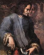 VASARI, Giorgio Portrait of Lorenzo the Magnificent wr oil painting picture wholesale