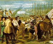 VELAZQUEZ, Diego Rodriguez de Silva y The Surrender of Breda (Las Lanzas) wr oil painting picture wholesale