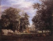 VELDE, Adriaen van de The Farm er oil painting artist