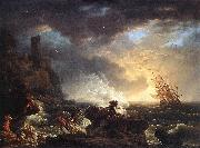 VERNET, Claude-Joseph Shipwreck  wr oil painting picture wholesale