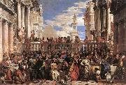 VERONESE (Paolo Caliari) The Marriage at Cana er oil painting artist