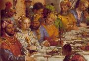 VERONESE (Paolo Caliari) The Marriage at Cana (detail) jh oil painting artist