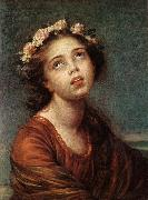 VIGEE-LEBRUN, Elisabeth The Daughter's Portrait   RT oil painting artist