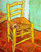 Vincent Van Gogh Artist's Chair with Pipe oil painting picture wholesale