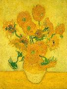 Vincent Van Gogh Sunflowers  ww oil painting picture wholesale