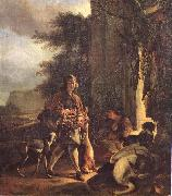 WEENIX, Jan After the Hunt oil painting picture wholesale