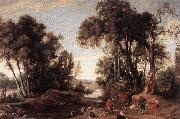WILDENS, Jan Landscape with Shepherds oil painting artist