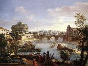 WITTEL, Caspar Andriaans van The Castel Sant Angelo from the South oil painting picture wholesale