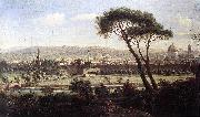 WITTEL, Caspar Andriaans van View of Florence from the Via Bolognese oil painting picture wholesale