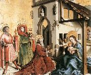 WITZ, Konrad Adoration of the Magi  hfy oil painting picture wholesale