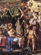 WTEWAEL, Joachim Mars and Venus Discovered by the Gods wer oil painting artist