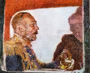 Walter Sickert King George V and Queen Mary Spain oil painting artist