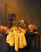 Willem Claesz Heda Still Life 001 oil painting artist