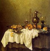 Willem Claesz Heda Breakfast of Crab oil painting artist