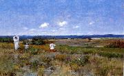 William Merrit Chase Near the Beach, Shinnecock oil painting picture wholesale